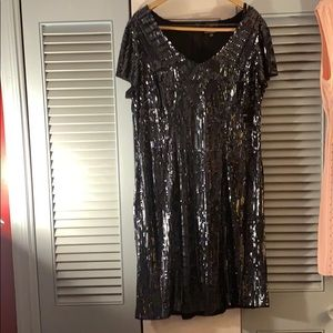 Stunning sequin cocktail dress size 18w